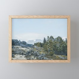 Winter in Iceland 2 Framed Mini Art Print