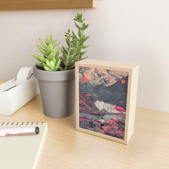 My Choices left me Alone Framed Mini Art Print