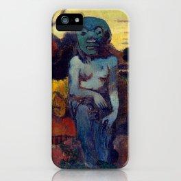 "Paul Gauguin ""Rave te hiti aamu (The Idol)"" iPhone Case"