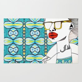 The Business of Branding Beauty Collection II Rug