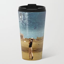 Broken Glass Sky Travel Mug