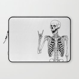 Rock and Roll Skeleton Laptop Sleeve