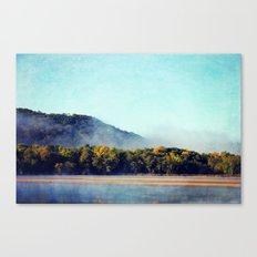 River Woods Canvas Print