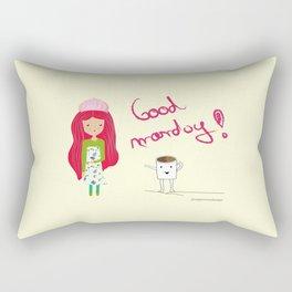 Good Monday Rectangular Pillow