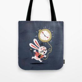 White Rabbit - Alice in Wonderland Tote Bag