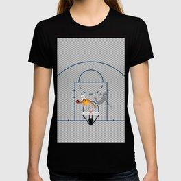 Dunkers   Basketball Court  T-shirt