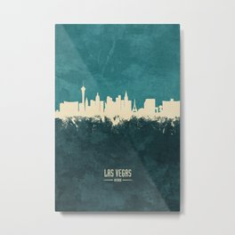 Las Vegas Nevada Skyline Metal Print
