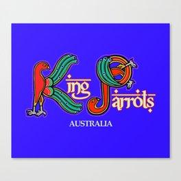 King Parrots Australia 2017 Canvas Print