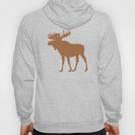 Moose: Brown Hoody