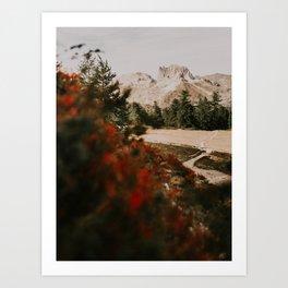 Mont Thabor/// Grand Séru Art Print