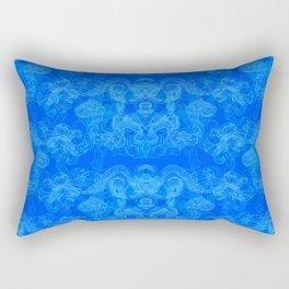 Linear Swirls, III Rectangular Pillow