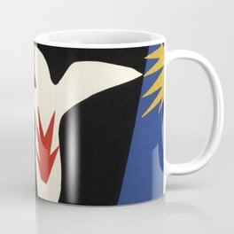 Henri Matisse The fall of Icarus (La Chute d'Icare) from Jazz Collection, 1947, Artwork, Men, Women, Coffee Mug