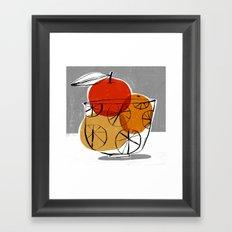 SIMPLE FRUIT Framed Art Print