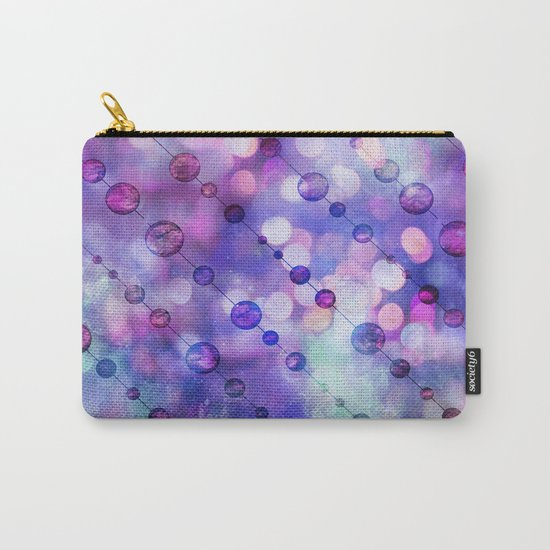 Color Beads and light Carry-All Pouch