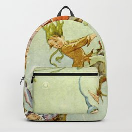 """The Pond Fairies"" by Margaret Tarrant Backpack"