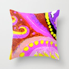 Paisley Perspective Throw Pillow