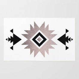 Minimalist Aztec Rug