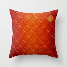 Smaug Throw Pillow