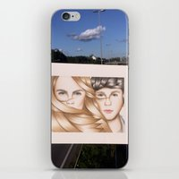 paper towns iPhone & iPod Skins featuring Paper Towns Drawing by dancing_papers