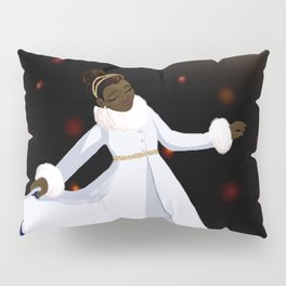 The Snow in the Moonlight Pillow Sham