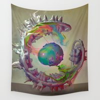 archan nair Wall Tapestries featuring Korah by Archan Nair