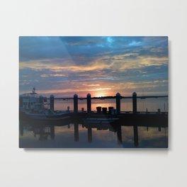 amelia sunset Metal Print