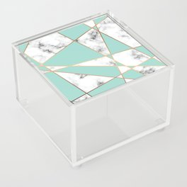 Marble Geometry 055 Acrylic Box