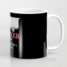 Trucker Definition Coffee Mug