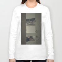 sleeping beauty Long Sleeve T-shirts featuring sleeping beauty by crisismasiva