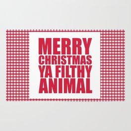Merry Christmas Ya Filthy Animal Rug