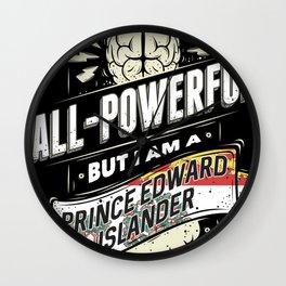 I Am PEI Canadian Province Pride Wall Clock