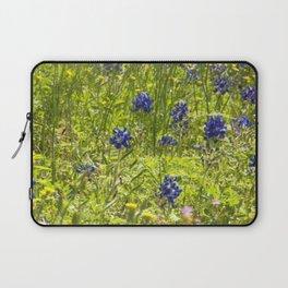 Texas Bluebonnets Laptop Sleeve