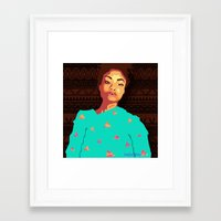 girly Framed Art Prints featuring Girly by UnifiedGlory
