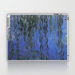 Water Lilies and Weeping Willow Branches by Claude Monet Laptop & iPad Skin