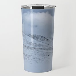 Snowy Welsh Mountains Travel Mug