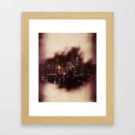 Town Framed Art Print