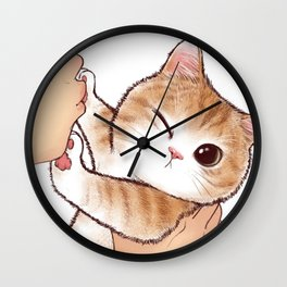 want to kiss Wall Clock
