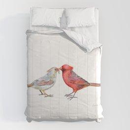I Grub You by Teresa Thompson Comforters