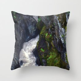 Gorge 7 Throw Pillow