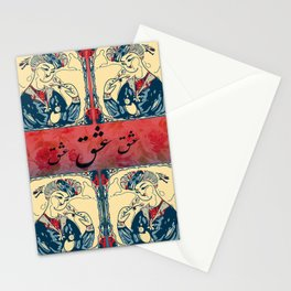 smelling Love -بوییدن عشق Stationery Cards