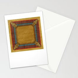 Egyptian Revival / Art Deco Pattern Stationery Cards