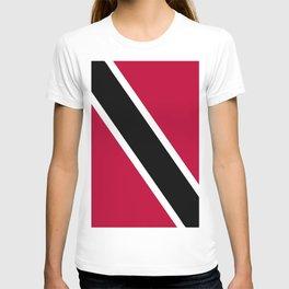 Trinidad and Tobago flag emblem T-shirt