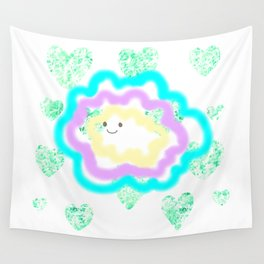 leaves and sparkle ~smile~ Wall Tapestry