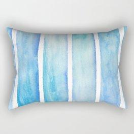 Beach, Oceans watercolor pillow Rectangular Pillow