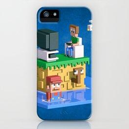 Retromania iPhone Case