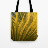palm Tote Bags featuring Palm by Moonworkshop