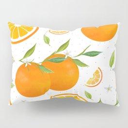 White Clementine Pillow Sham
