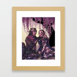 ninja boyfriend Framed Art Print