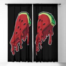 Melting Melon | Delicious Summer Pizza Blackout Curtain