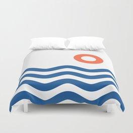 Nautical 02 Seascape Duvet Cover